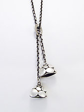 September Slide Necklace by Martha Sullivan (Silver Necklace)