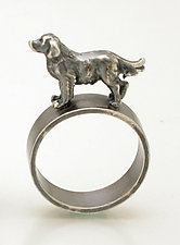 Retriever Ring by Kristin Lora (Silver Ring)