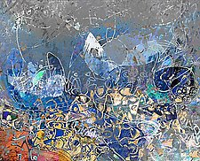 Pillars of Cosmic Origin 3792 by Mark Johnson (Giclée Print)