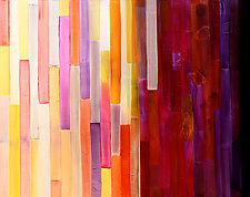 Whimsical Walk by Marlene Sanaye Yamada (Acrylic Painting)