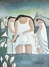Flores De la Mañana (Morning Flowers) by Armando  Adrian-Lopez (Giclée Print)