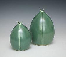 Split Pods by Whitney Smith (Ceramic Vessel)