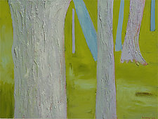 Lawn by Katherine Steichen Rosing (Acrylic Painting)