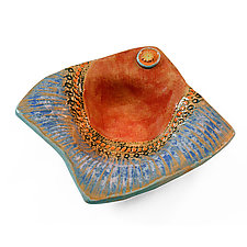 Simply Ribbed by Laurie Pollpeter Eskenazi (Ceramic Bowl)