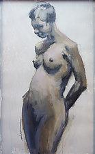 Torso II by Cathy Locke (Oil Painting)