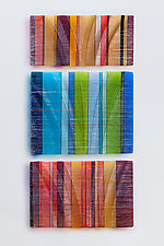 Tapestries in Glass by Nina Falk (Art Glass Wall Art)