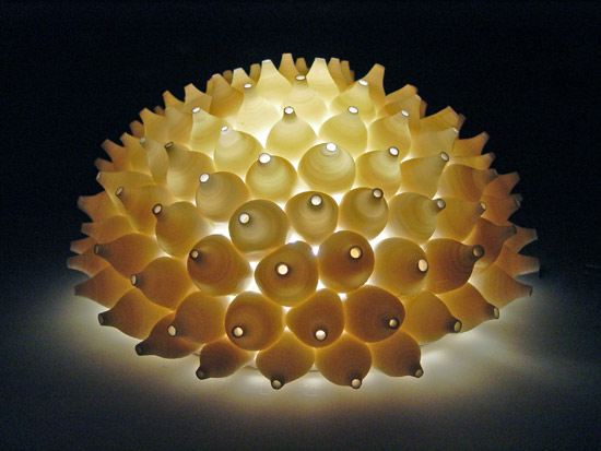 Shells Wall Light By Lilach Lotan Ceramic Wall Light