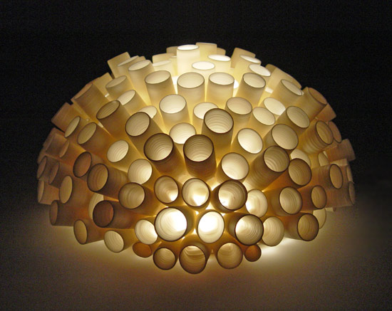 Tubes Wall Light By Lilach Lotan Ceramic Wall Light