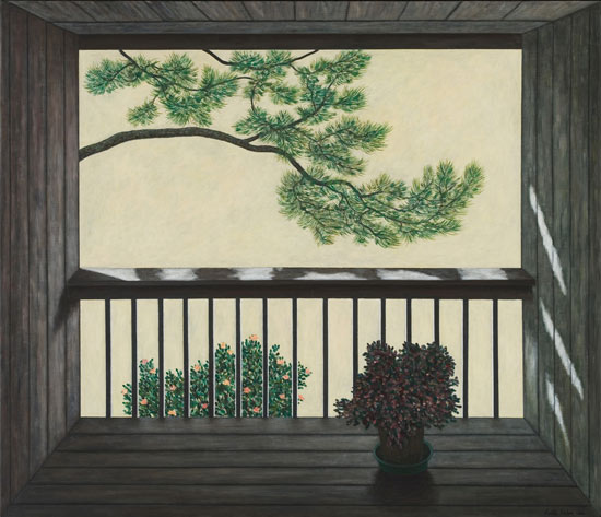 Balcony Pine Run