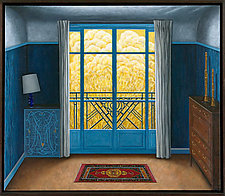 Blue Bedroom by Scott Kahn (Giclée Print)
