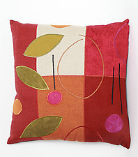 Cherry Leaves by Susan Hill (Pillow)