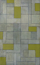 Gray Matters - Green by Stephen Cimini (Oil Painting)