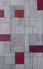 Gray Matters - Red by Stephen Cimini (Oil Painting)