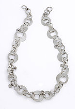 Olga Necklace by Sarah Mann (Silver Necklace)