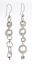 Olga Earrings by Sarah Mann (Silver Earrings)