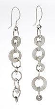 Olga Earrings by Sarah Mann (Silver Earrings)