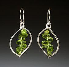 Lily Earrings by Ayala Naphtali (Silver & Stone Earrings)