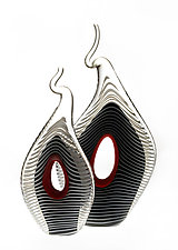 Keyhole Sculpture by Mike Wallace (Art Glass Sculpture)