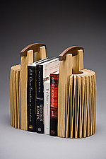 Stonehenge Bookends by Seth Rolland (Wood Bookend)