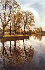Lake Lodi IV by Thea Schrack (Color Photograph)