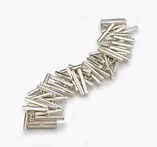 Cylindrical  Bracelet by Elisa Bongfeldt (Silver Bracelet)