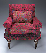 Shelburne Chair by Mary Lynn O'Shea (Upholstered Chair & Pillow)
