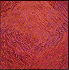 Rose Spiral by Tim Harding (Fiber Wall Art)