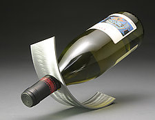 Wine Ribbon by David Sleightholm (Metal Wine Rack)