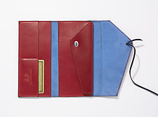 String Wallet - Large by Jutta Neumann  (Leather Wallet)