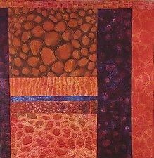 Life Goes On I by Karen Kamenetzky (Fiber Wall Hanging)