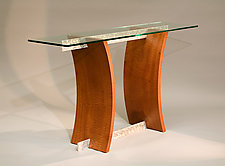 Mesa Hall Table by Nathan Hunter (Wood Hall Table)
