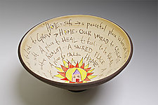 Home Bowl by Noelle VanHendrick and Eric Hendrick (Ceramic Bowl)