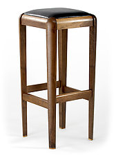 Walnut Stool by Glenn Ward (Wooden Stool)