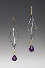 Lantern Earrings by Anna Tai (Gold, Silver & Stone Earrings)