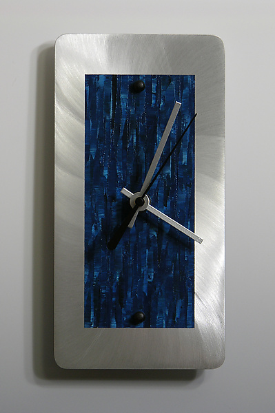 Aluminum Mini Shelf Clock