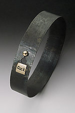 Snap Bracelet by Peg Fetter (Gold & Steel Bracelet)