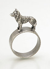 Shepherd/Husky Ring by Kristin Lora (Silver Ring)