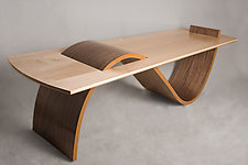S Shape Table by Ian Eldridge (Wooden Table)