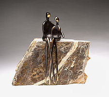 Forever Us by Yenny Cocq (Bronze Sculpture)