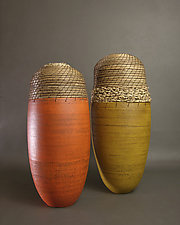 Bullets by Hannie Goldgewicht (Ceramic Vessel)