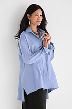 Vent Back Oxford Shirt by Planet   (Woven Shirt)