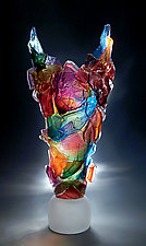 Harlequin by Caleb Nichols (Art Glass Sculpture)