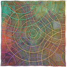 Circles #28 by Michele Hardy (Art Quilt)