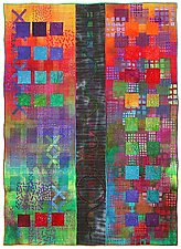 Directions #7 by Michele Hardy (Art Quilt)
