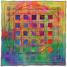 Directions #8 by Michele Hardy (Fiber Wall Hanging)