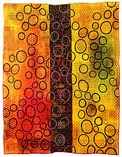 Geoforms: Porosity #5 by Michele Hardy (Fiber Wall Hanging)