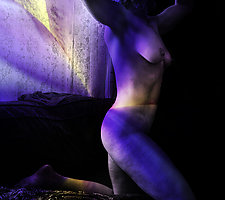 Nude Flying by Michael Williams (Color Photograph)