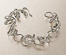 Twist Bracelet by Rina S. Young (Silver bracelet)