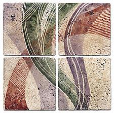 Texture Rhythms by Marsh Scott (Stone Wall Art)