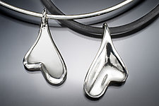 Heart Pendant by Lisa Slovis (Silver Necklace)